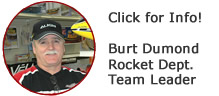Burt Dumond Team Leader Rocket Department