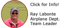 Ray Labonte Airplane Department Team Leader