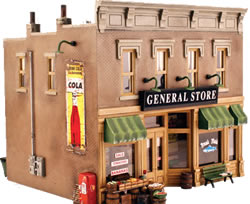 Railroad Senery General Store